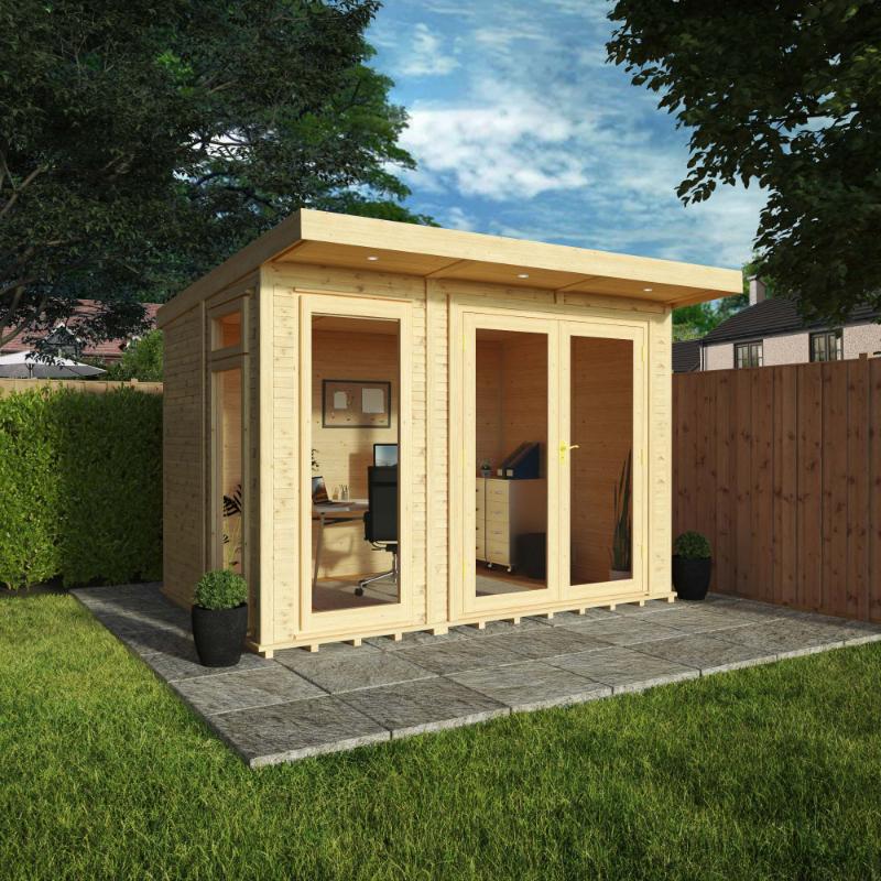Adley 3 x 2m Insulated Garden Room