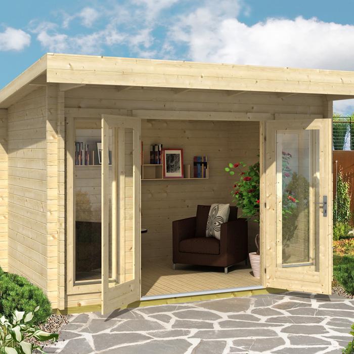 Image of Greenway 3.3m x 2.4m Carrick Log Cabin
