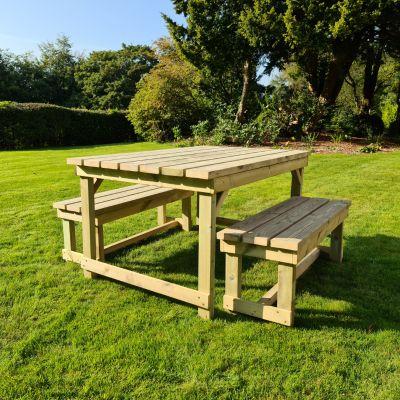 Moorvalley 4 Seater Beer Garden Dining Set