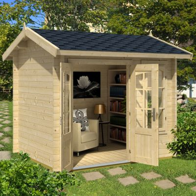 Greenway 2.5m x 2m Mini Elizabeth Log Cabin