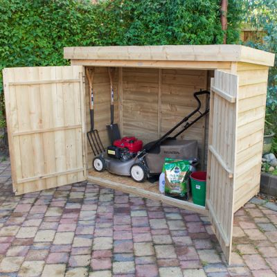Hartwood Pressure Treated Overlap Pent Large Outdoor Store