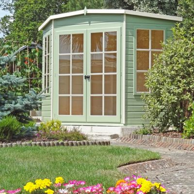 Loxley 7' x 7' Oxhill Corner Summer House