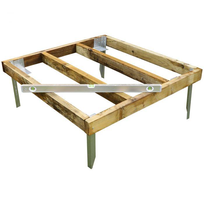 Adley 4' x 4' Wooden Shed Base