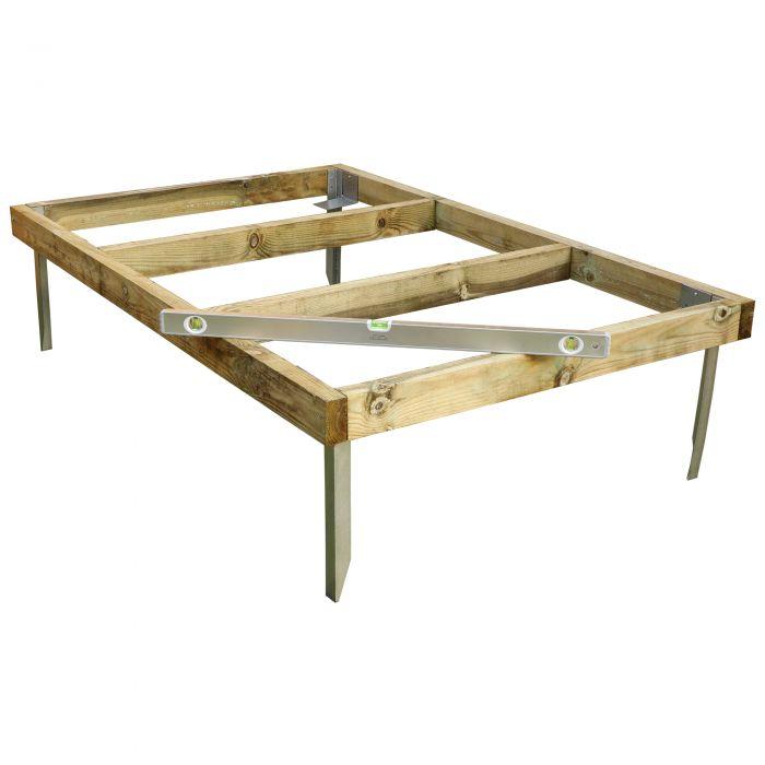 Adley 6' x 4' Wooden Shed Base