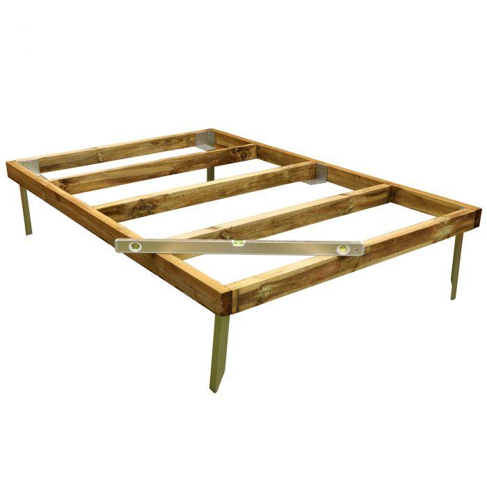 Adley 7' x 5' Wooden Shed Base