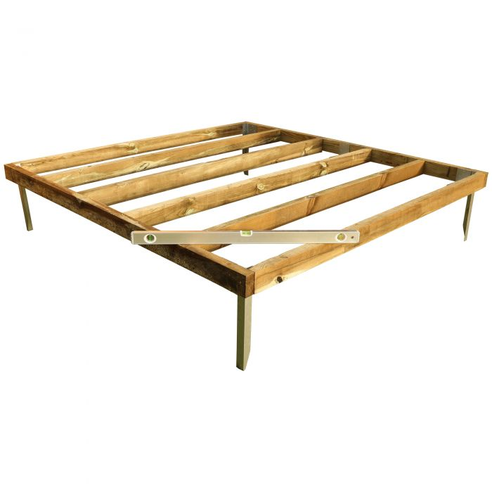 Adley 7' x 7' Wooden Shed Base