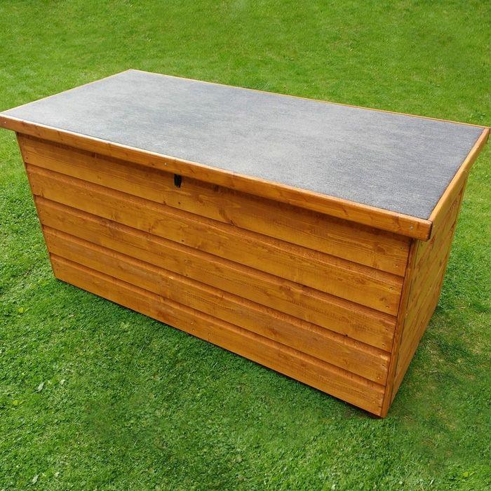 2 Tongue And Groove Storage Box, Wooden Garden Storage Box Uk