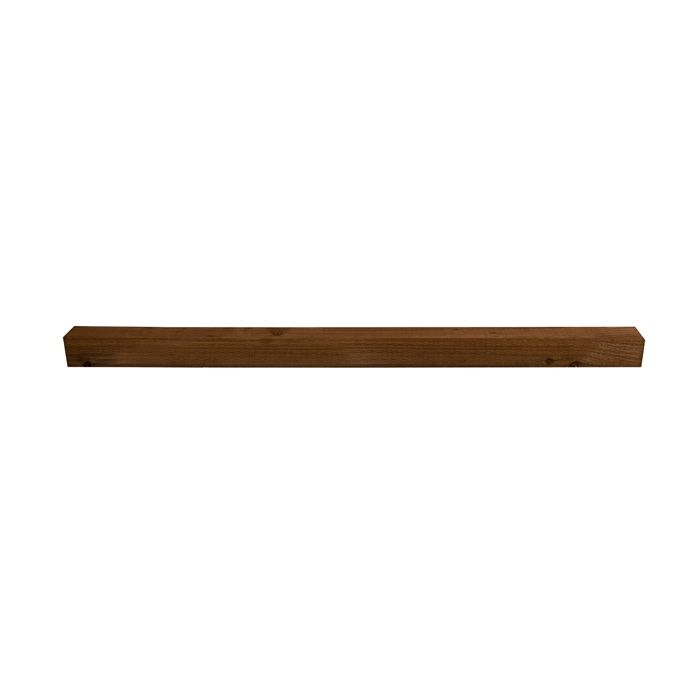 Hartwood 8' Brown Incised Fence Post - 100mm