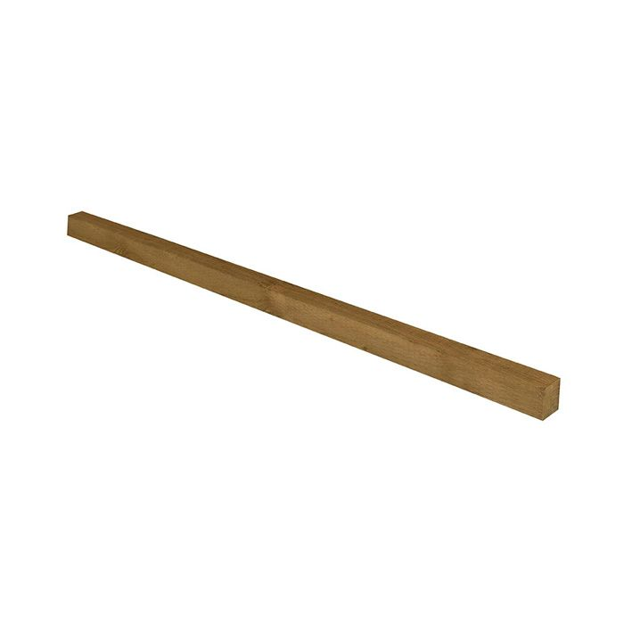 Hartwood 6' Green Incised Fence Post - 75mm