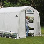 Shelter Logic 8' x 8' Peak Style Portable Greenhouse