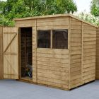 Hartwood 7' x 5' Overlap Pressure Treated Pent Shed