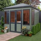 Adley 8' x 8' Cornwall Summer House