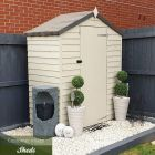 Adley 5' x 3' Windowless Overlap Apex Shed