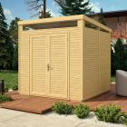 Rowlinson 8' x 8' Pent Security Shed