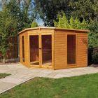 Loxley 10' x 10' Rowan Corner Summer House