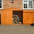 Loxley 6' x 3' Shiplap Apex Bike Shed - No Floor