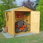 Loxley 6' x 6' Double Door Shiplap Apex Shed