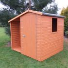 Loxley 6' x 7' Shiplap Apex Shed with Lean To