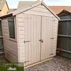 Loxley 6' x 4' Double Door Shiplap Apex Shed