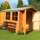 Loxley 7' x 10' Double Door Overlap Apex Shed