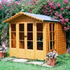 Loxley 7' x 7' Hallow Summer House
