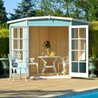 Loxley 8' x 8' Oxhill Corner Summer House