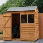Hartwood 6' x 4' Overlap Reverse Apex Shed