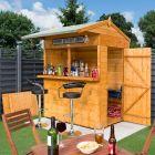 Rowlinson 6' x 6' Shiplap Garden Bar Shed