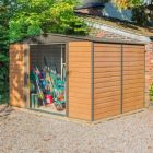 Rowlinson Woodvale 10' x 8' Apex Metal Shed