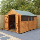 Hartwood 8' x 10' Double Door Shiplap Apex Workshop