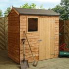 Adley 6' x 4' Overlap Reverse Apex Shed