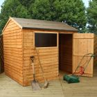 Adley 8' x 6' Overlap Reverse Apex Shed