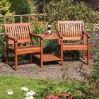 Rowlinson Willington Companion Garden Seat