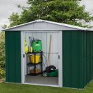 "YardMaster 7' 1"" x 7' 11"" Apex Metal Garden Shed"