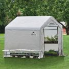 Shelter Logic 6' x 6' Peak Style Portable Greenhouse
