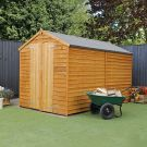 Adley 6' x 10' Windowless Double Door Overlap Apex Shed
