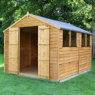 Adley 8' x 12' Double Door Overlap Apex Shed