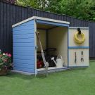 Adley Pressure Treated Shiplap Pent Mower Shed