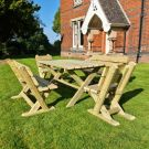 Moorvalley 6 Seater Cheddleton Dining Set