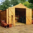 Adley 10' x 10' Double Door Overlap Apex Workshop