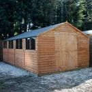 Adley 10' x 20' Double Door Overlap Apex Workshop