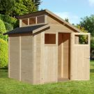 Rowlinson 7' x 7' Skylight Shed