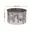 Oren Preserver - 4 Seater Circular Patio Set Cover - 163cm