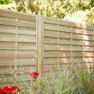 Hartwood 4' x 6' Horizontal Weave Fence Panel