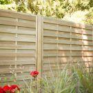 Hartwood 6' x 6' Horizontal Weave Fence Panel