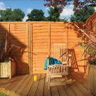 Rowlinson 6' x 6' Lap Fence Panel
