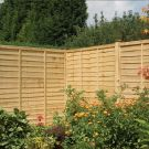 Rowlinson 6' x 6' Pressure Treated Lap Fence Panel