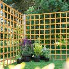 Hartwood 6' x 6' Traditional Trellis Fence Panel