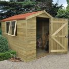 Hartwood 6' x 8' Premium Tongue & Groove Pressure Treated Apex Shed