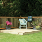 Hartwood Patio Decking Kit